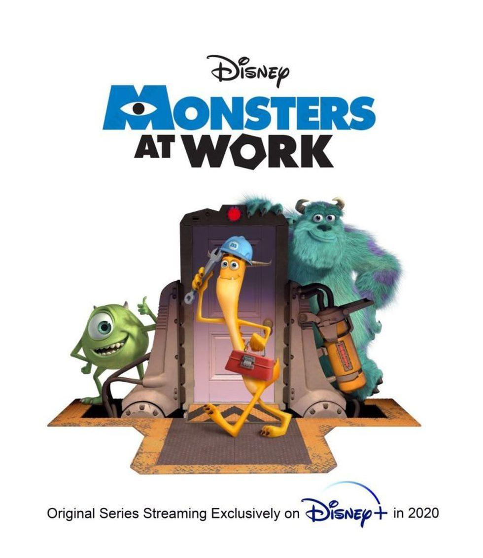 """Primer afiche de """"Monsters at Work"""" (Foto: Disney)"""