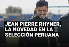 Selección peruana: Jean Pierre Rhyner y su convocatoria para los partidos ante Chile y Argentina