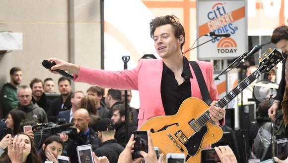 Este es el primer disco que Harry Styles estrena desde 2017. (Foto: AFP)