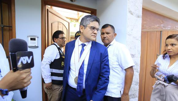 El fiscal José Domingo Pérez dijo que el chat con Jorge Barata demuestra que el entorno de Alan García quería presionarlo. (Foto: GEC)