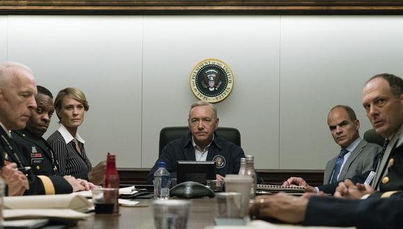 """Producción de """"House of Cards"""" prepara su regreso tras escándalo de Kevin Spacey"""