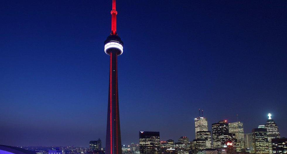 Peru's Bicentennial: Niagara Falls and the National Tower of Canada will be illuminated in red and white
