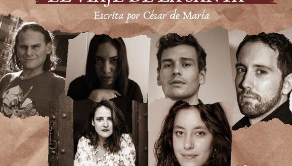 """""""El viaje de la santa"""" inaugura el ciclo de lecturas dramatizadas de la productora Elefanta de papel."""