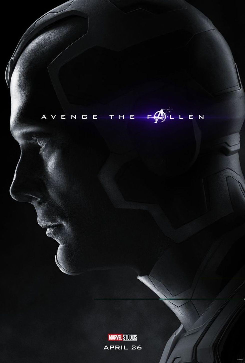 Vision - MUERTO (Foto: Avengers: Endgame / Marvel Studios)