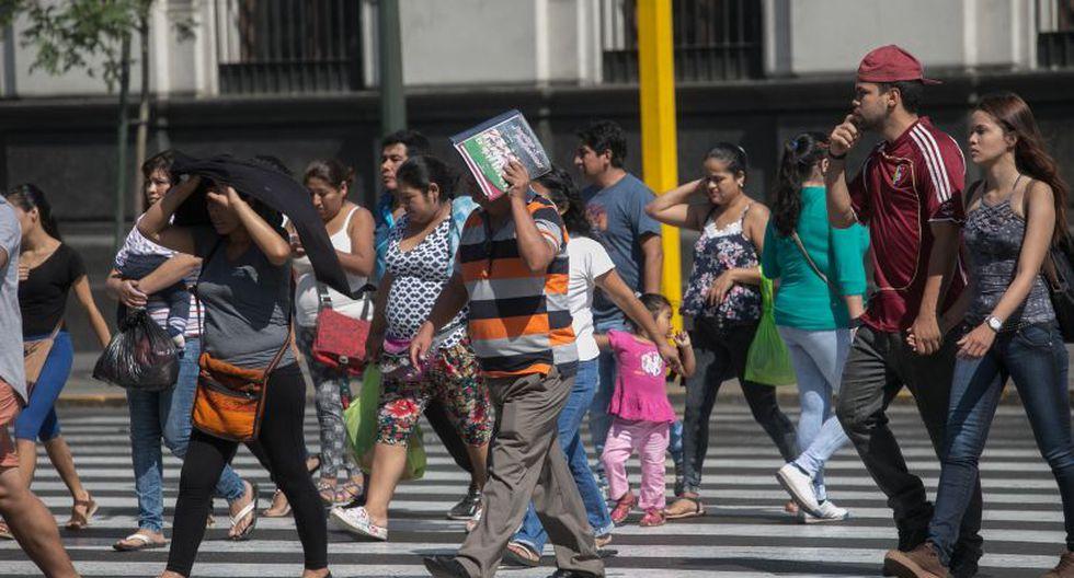 Los ciudadanos deben tener cuidado con la radiación solar. (Foto: El Comercio)