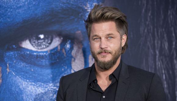 """Travis Fimmel es un actor y modelo australiano que es conocido por su papel de Ragnar Lothbrok en la serie de televisión """"Vikings"""", de History Channel. (Foto: AFP)"""