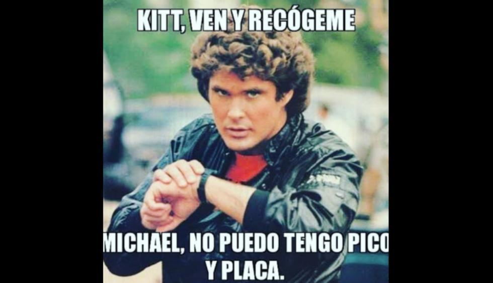 En Facebook abundan los memes sobre la medida pico y placa anunciada por la Municipalidad de Lima. (Foto: Facebook)