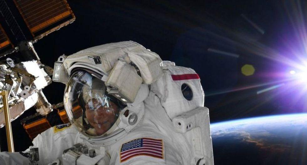 La NASA canceló la primera caminata espacial de dos mujeres prevista para el viernes. (Foto: NASA)
