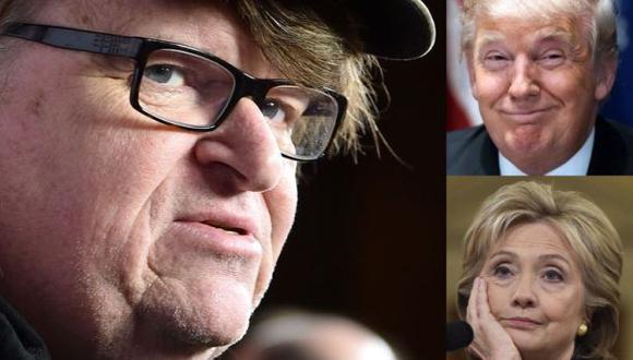 Trump le ganó debate a Clinton, afirma Michael Moore