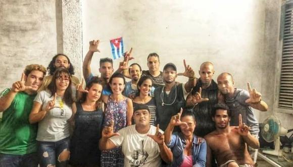El grupo opositor cubano Movimiento San Isidro denunció este jueves la detención violenta de varios de sus miembros. (Foto: Facebook Movimiento San Isidro)