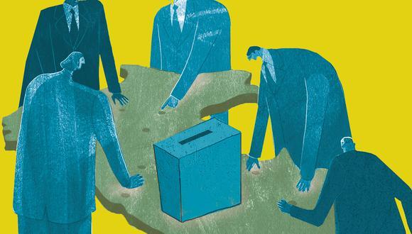 El rol de los personeros de los partidos politicos en una elección reñida y en pandemia (Composición: El Comercio)