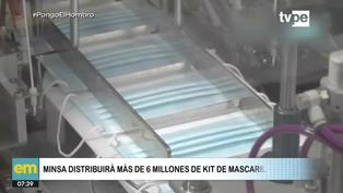 Minsa repatirá más de 6 millones de mascarillas a nivel nacional
