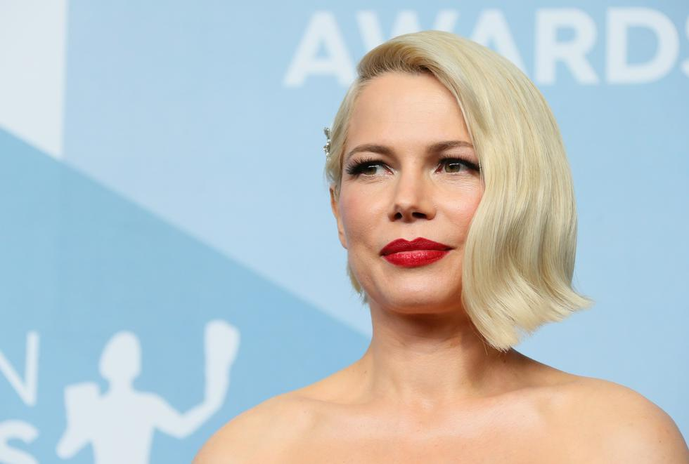 """The American actress Michelle Williams was one of the protagonists of """"Secret in the mountain"""".  She played Alma Beers del Mar, Ennis del Mar's wife. The Hollywood star won a Golden Globe in 2020 thanks to her role as """"Fosse / Verdon"""".  (Photo: Jean-Baptiste Lacroix / AFP)"""