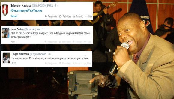 ¡Pepe Vásquez presente! Selección y jugadores lamentan partida