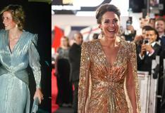 Lady Di: las veces en que Kate Middleton le rindió homenaje con sus looks
