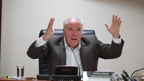 García Belaunde refirió que se debe abrir una pesquisa respecto a la concesión de la línea 2 del metro de Lima, que fue firmada por Paredes durante el gobierno nacionalista. (Foto: Archivo El Comercio)