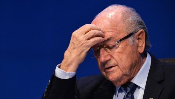 Joseph Blatter: TAS mantiene su suspensión de seis años
