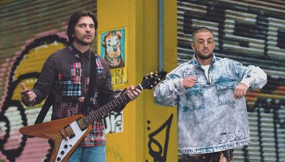 """Juanes se unió al rapero Crudo Means Raw para lanzar su nuevo tema """"Aurora"""". (Foto: Captura)"""