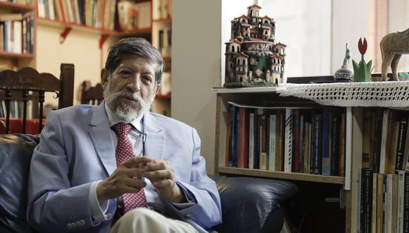 El magistrado del TC Carlos Ramos Núñez falleció este martes. (Foto: Archivo GEC)