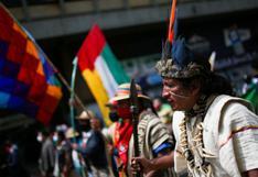 Indígenas colombianos ocupan centro de Bogotá para exigir ser escuchados por Duque |  FOTOS