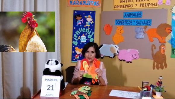 Miss July contó que la pandemia del COVID-19 le ha retado a usar la tecnología a favor de los niños. (Fotocaptura de video)