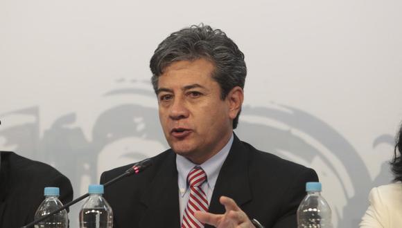 El funcionario había asumido el puesto el 15 de febrero pasado. Había reemplazado en el cargo a Luis Suárez Ognio. (Foto: El Comercio)