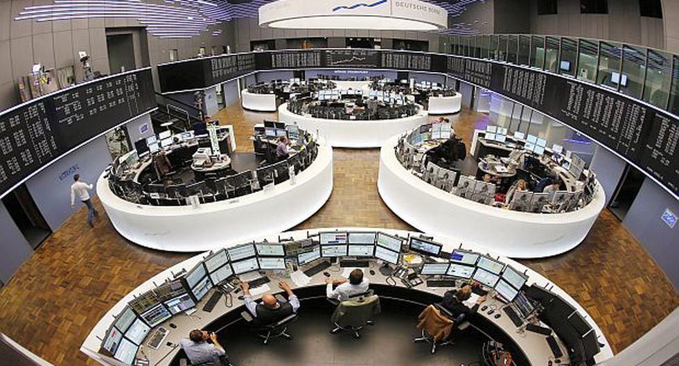 Bolsas de Europa cayeron debido a mal dato en Estados Unidos
