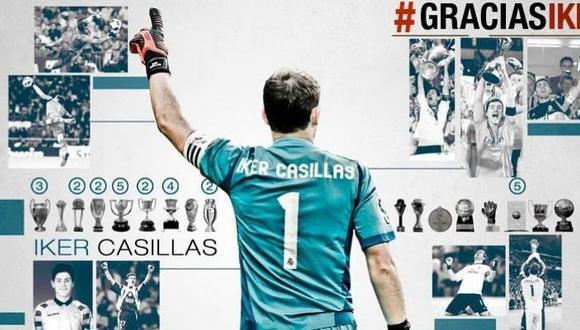Iker Casillas más de un año sin pisar una cancha de fútbol. Su último club fue el Porto de Portugal. (Foto: Porto)