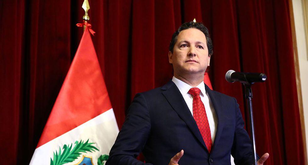 El presidente del Congreso, Daniel Salaverry, protagonizó un incidente con Fuerza Popular en la más reciente sesión de pleno. (Foto: GEC)