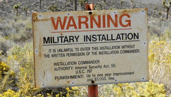 En 2013 la CIA admitió oficialmente la existencia del Área 51 pero dijo que se trata de una base aérea militar que fue utilizada durante la Guerra Fría. Foto: Getty imags, vía BBC Mundo