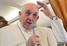 """Papa Francisco bromea: """"Estoy vivo, aunque algunos me querían muerto"""""""