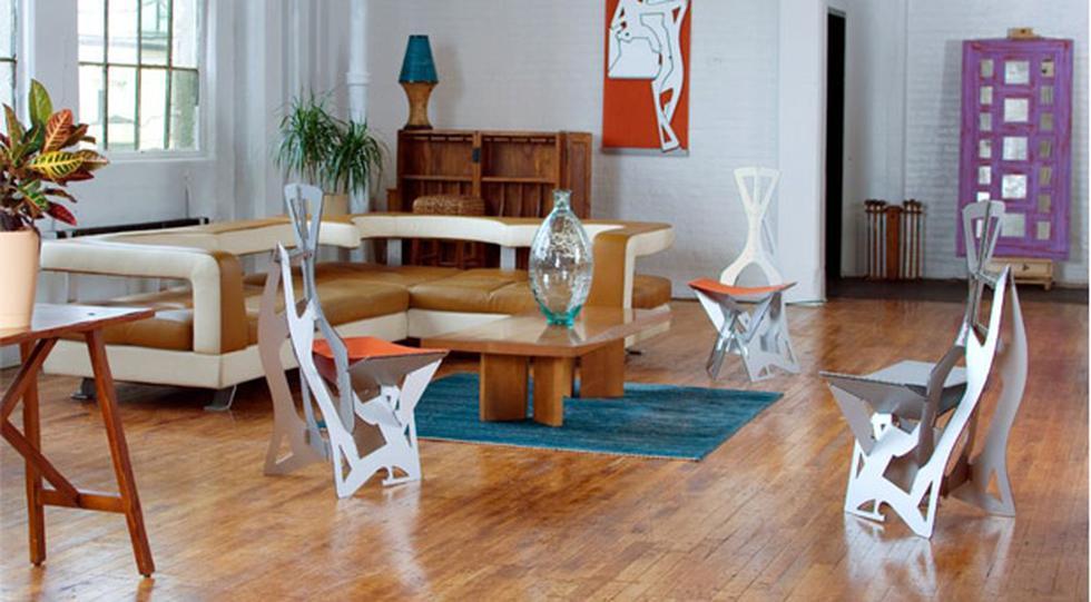 Folditure, las sillas y mesas que caben dentro de tu clóset - 3