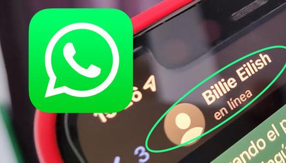 """¿Sabes cómo conocer quién está """"en línea"""" en WhatsApp? Usa este truco. (Foto: MAG)"""