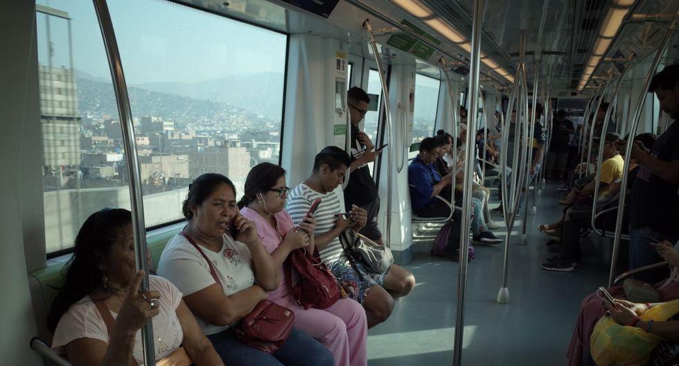 Vagones del tren (Fotos: Anthony Niño de Guzmán/ GEC)