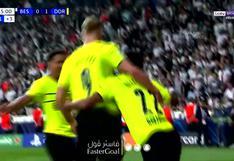 Borussia Dortmund vs. Besiktas: Haaland aparece para marcar el 2-0 de los alemanes en la Champions League | VIDEO