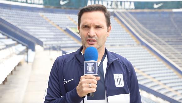 Víctor Marulanda confirmó que dejará de ser director deportivo tras el descenso de Alianza Lima   Foto: Alianza Lima