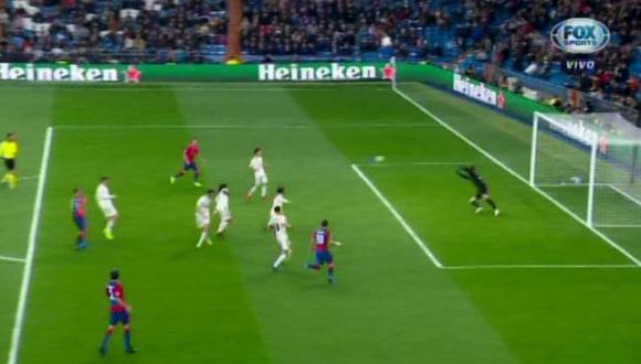 Real Madrid vs. CSKA Moscú: así fue el 1-0 con el que sorprendieron a los 'blancos'. (Foto: captura)