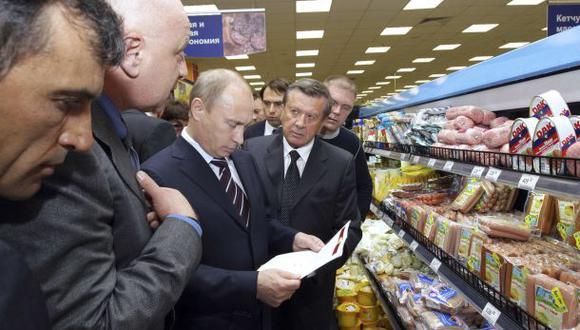 Rusia busca alimentos de América Latina tras sanciones