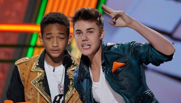 Justin Bieber y Jaden Smith estarían trabajando en un misterioso video musical. (Foto: AFP)