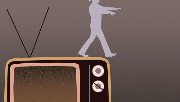 Tele-invidente, por Carlos Galdós. (Ilustración: Nadia Santos)