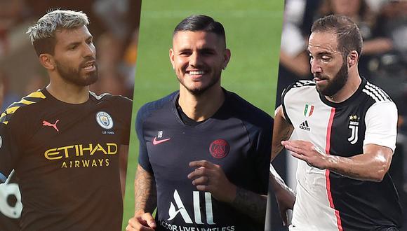 Mira cuáles son los jugadores argentinos que se presentarán este miércoles en la Champions League. (Fotos: EFE)