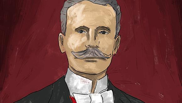 """""""La gratitud nacional reclama este acto de verdadera justicia"""". (Ilustración: Giovanni Tazza)."""