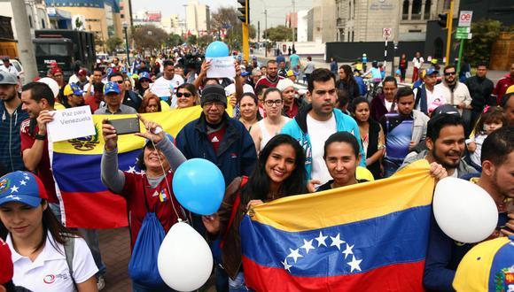 De los más de 368 mil venezolanos que hay en el Perú, 60 mil han recibido su PTP. (Foto: Andina)