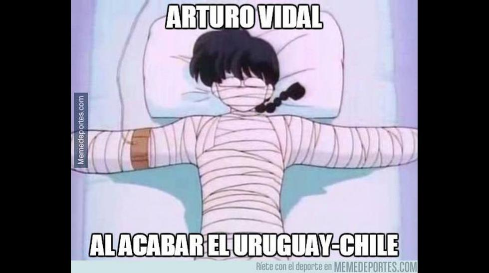 Chile vs. Uruguay: Gonzalo Jara y Cavani protagonistas de memes - 28