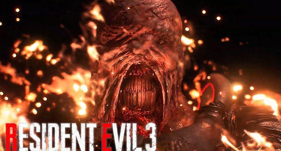 Resident Evil 3 Remake sale a la venta el próximo 3 de abril. (Difusión)