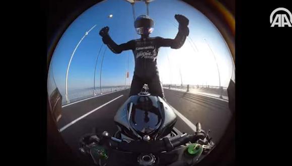 Alcanzó los 400 km/h sobre una Kawasaki H2R [VIDEO]