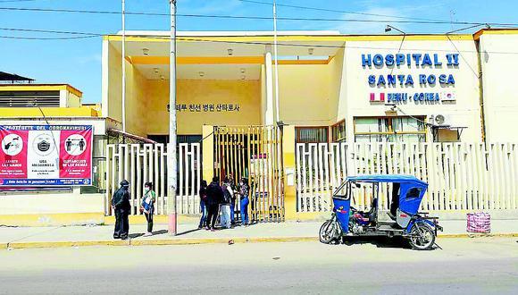 La menos ingresó al hospital el 13 de febrero. (Foto referencial)