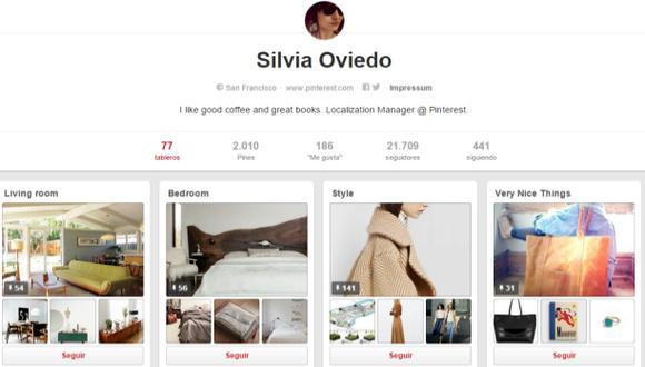 Pinterest guarda y categoriza la información en Internet