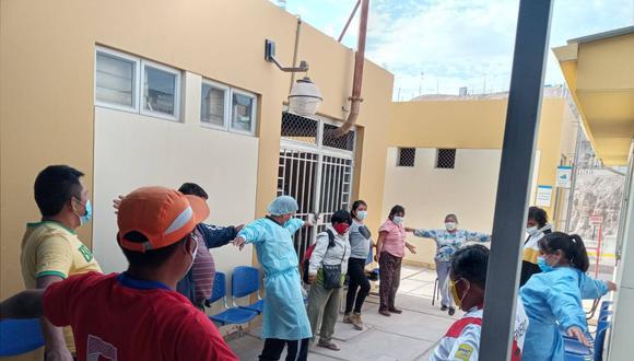 Moquegua: centro de salud mental comunitario atiende a personas con problemas a raíz del COVID-19   Foto: Geresa Moquegua