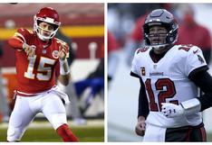 Super Bowl: día, hora y canales de TV del duelo entre Buccaneers vs. Chiefs